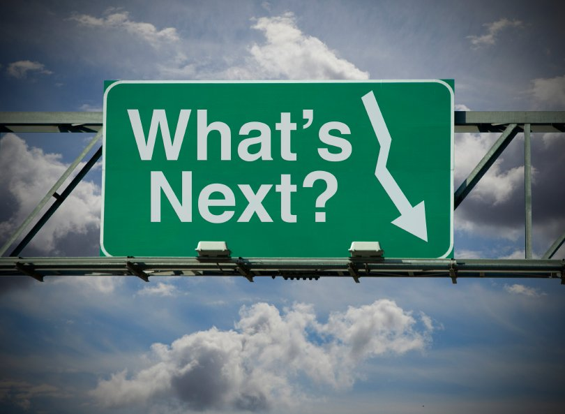 street banner image: What's Next?